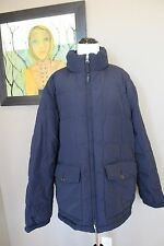 NWT J Crew Men's Dakota Down Jacket Coat NAVY Sz XL 17343 $248