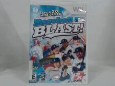 BASEBALL BLAST! Wii w/ Original Box Cracked Case