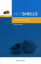 Very Good, Nutshell Contract Law (Nutshells), Robert Duxbury, Book