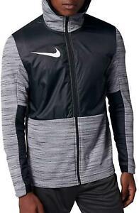 Nike Men's Black/Grey Therma Basketball Jacket (AQ4165-010) Sizes L/2XL/3XL NWT