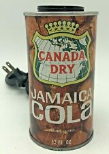 Vintage Canada Dry Jamaica Cola Soda Can Light Lamp 1970s