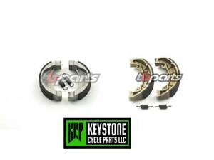 Fits Tusk Brake Shoe Kawasaki KLX110L 2010-2019 Carbon