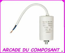 CONDO CONDENSATEUR DEMARRAGE MOTEUR 450V 16MF + CABLE - GROUPE ELECTROGENE