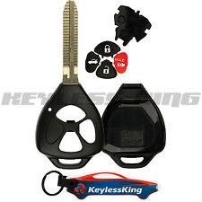 Remote Key Fob Shell Pad Case for 2006 2007 2008 2009 2010 2011 2012 Toyota Rav4