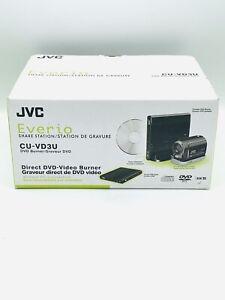 **NEW SEALED** JVC Everio Share Station Direct Video DVD Burner Model CU-VD3U
