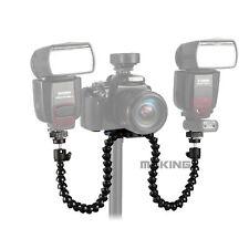Octopods Arm Macro Flash Bracket Mount Holder for Canon Nikon Speedlite Camera
