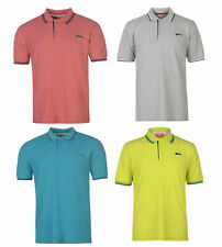 New Slazenger Mens Tipped Polo t Shirt / top   Sz XL to 4XL  sport gym casual