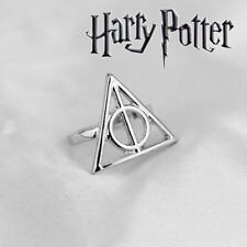 Harry Potter Deathly Hallows Ring, Wizarding World, Noble, Hogwarts, Jewelry, HP