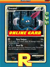 Sneasel ( Beat Up ) - for Pokemon TCG Online ( DIGITAL ptcgo in Game Card)