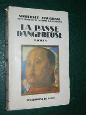 Somerset MAUGHAM: La Passe dangereuse, 1946 couverture de Iacovleff !