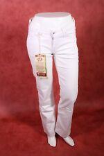 KJ1-72 Wrangler Girls Oregon Jeans Hose weiß Denim Stretch straigth W30 L32 NEU
