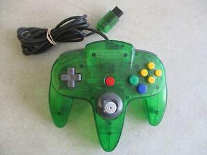 NINTENDO 64 N64 JUNGLE GREEN FUNTASTIC CONTROLLER