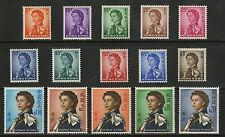 Hong Kong   1962   Scott # 203-217    Mint Never Hinged Set