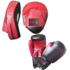 Focus pads and Boxing Gloves set Hook & Jab Punching Training Muay kick boxing
