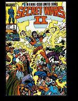 Secret Wars II #9 Spider-man Black suit Marvel comic 1st Print 1986 unread VF