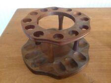 Vintage 12 Pipe Display Holder Rack Stand Decatur Industries Deco Genuine