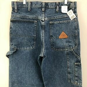 Bulwark EXCEL FR® Flame Resistant Pre Washed Denim Dungaree Stone Wash Jeans NWT