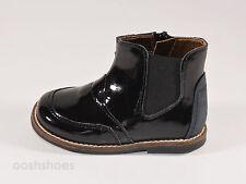 Babybotte Chicas Alouette Charol Negro Botas Zip UK 5.5 EU 22 RRP £ 57.00