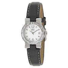 Movado Womens Vizio 0606825 Stainless Steel 14 Diamonds Swiss Quartz Watch $1650