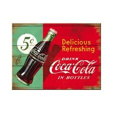 Coca Cola 5 Cent Kühlschrankmagnet Fridge Refrigerator Magnet 6 x 8 cm