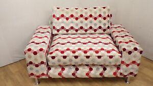 Love Chair in Multi colour jacquard velvet