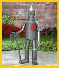 Steadfast Tin Woodsman Garden Sculpture, Décor Tin Man Yard Art, Garden Statue