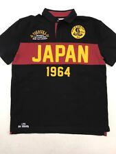 """Iro Ochi Black Maroon Yokosuka Emperors Champion Mens """"Polo� Style Medium Rare"""