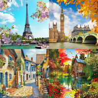 5D DIY Full Drill Diamond Painting Fantasy View Cross Stitch Embroidery Kit