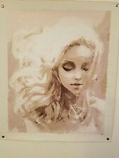 Dream Girl  home decor wall Oil Painting