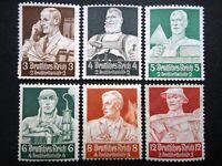 Germany Nazi 1934 Stamps MNG WWII Third Reich Deutsches Reich German Deutschlan