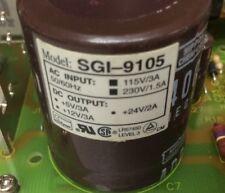Power Supply 5v/3A,12v/3A And 24v/2A SGI-9105 In Cage