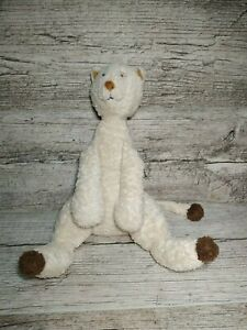 "JELLYCAT CREAM  CAT  APPROX 12"" RARE SOFT TOY"