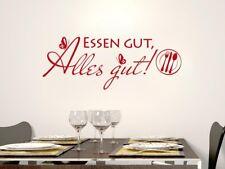Tatuaggio Parete Cucina Tatuaggio parete adesivo per cucina verdetto di mangiare bene tutto bene!