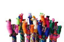 #1157 3 Llama Alpaca Pens Hand Made Fair Trade Peru School Story Children Writer