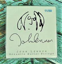 Rare New Authentic! JOHN LENNON Acoustic Guitar Strings 11/50 Gibson SAG-JL11