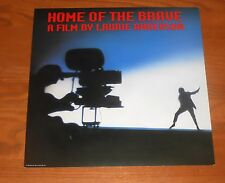 Home of the Brave Laurie Anderson Poster Flat Square Promo 12x12 RARE