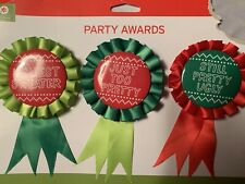 Christmas Party Awards