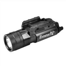 Tactical Cree LED 500LM Flashlight White light 20mm Rail For Rifle Pistol Gun