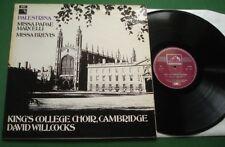 Palestrina Missa Papae Marcelli / Missa Brevis King's College Choir HQS 1237 LP