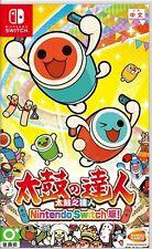 Taiko no Tatsujin: Chinese/Japanese subtitle Nintendo Switch NEW