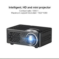 7000 Lumen 3D 1080 P Full HD Mini Projektor LED Multimedia Heimkino Beamer AV TF