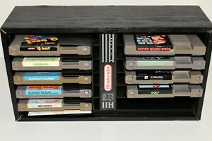 Nintendo NES Lot 9 Karate Champ Rad Racer Super Team MTV Dig Dug Golf Q-Bert ++