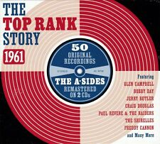 THE TOP RANK STORY - 1961 - 50 ORIGINALS - THE A SIDES (NEW SEALED 2CD)