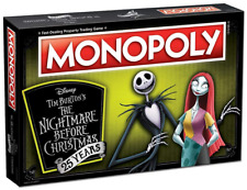 USAopoly Monopoly The Nightmare Before Christmas Anniversary Edition 25 Years