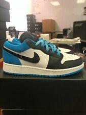 Nike Air Jordan 1 Low SE GS Kids CT1564 004 BNIB Black Laser Blue White