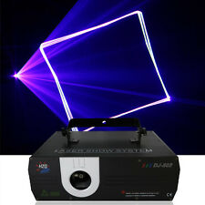 AUCD 1W RGB Animation Laser Projector Light DMX ILDA DJ Party Stage Lighting
