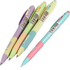 4PCS/lot 0.5mm Blue Ink Ballpoint Pens Multicolor Plastic Flexible Ball Pens sjh
