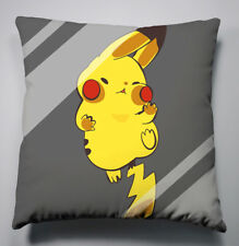 Neu Pikachu Pokémon Kissen Sofakissen Dokokissen Bezug Pillow 40x40CM