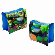 Inflatable Arm Floats Teenage Mutant Ninja Turtles Swim Pool Float TMNT Kids 3+