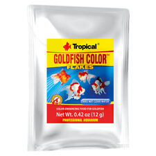 Tropical Goldfish Color Flakes - 0.42 oz